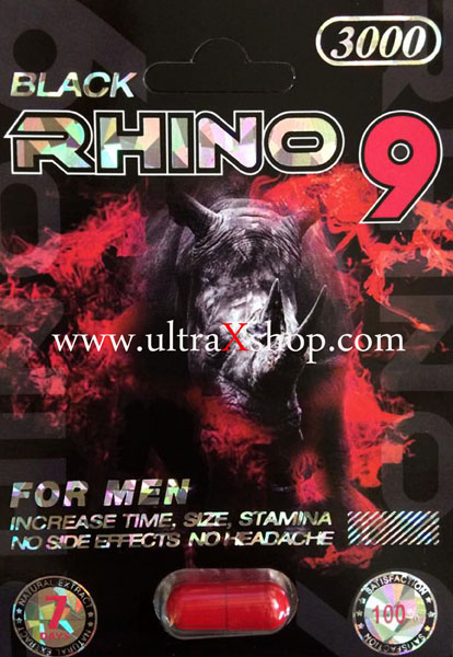 Black Rhino 9 Male Enhancement Pill