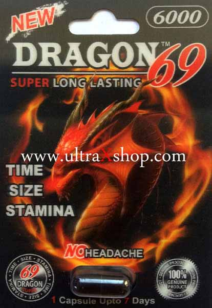 Dragon 69 6000mg Pill Male Enhancement Genuine Sex