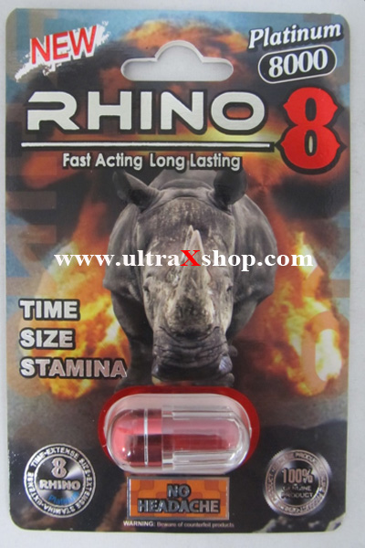Rhino 8 8000 Male Enhancement Pill is one of the top male enhancement pills of January!