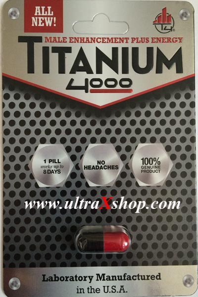 Titanium 4000 Pill for Male Sexual Enhancement is one of the top male enhancement pills of January!